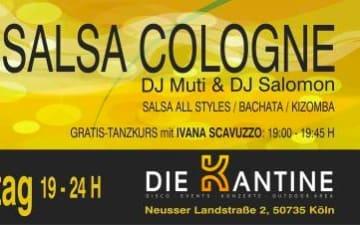 Salsa Cologne in der Kantine