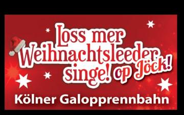 Loss mer Weihnachtsleeder singe an der Galopprennbahn am 16.12.2018