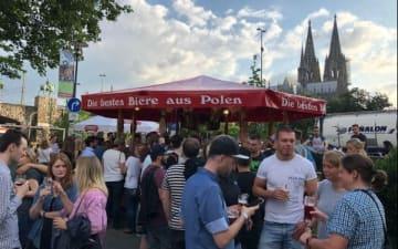 21. Kölner Bierbörse an der Rheinpromenade vom 30.05. - 02.06.2019