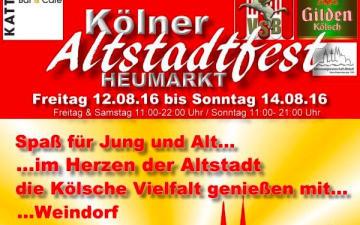 Kölner Altstadtfest 2016