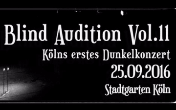 Das Dunkelkonzert - Blind Audition Vol. 11 Frauen Edition