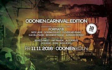 Carnival Edition im Odonien