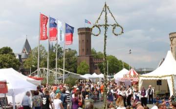Kölner Mittsommerfest am Schokoladenmuseum vom 20. bis 23.06.2019