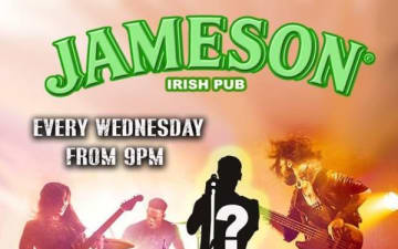 Live Band Karaoke im Jameson Pub am 17.10.2018