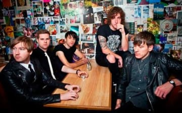 The Pigeon Detectives im Blue Shell