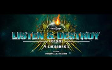 Listen & Destroy im Odonien