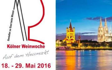 43. Kölner Weinwoche 2016 am Heumarkt
