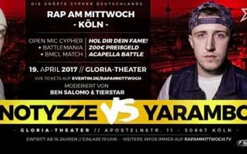 Rap Am Mittwoch im Gloria Theater