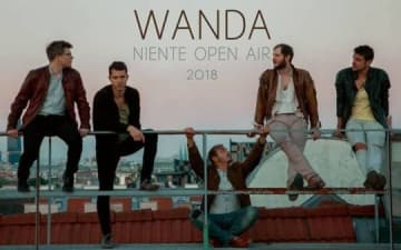 Wanda - Niente Open Air im Tanzbrunnen am 18.08.2018
