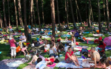 Loss mer singe Sommerfest im Waldbad