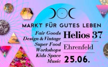 Helios & Selene: Markt Für Gutes Leben im Helios37