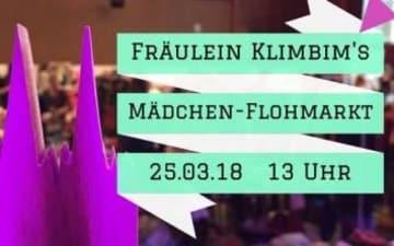 Fräulein Klimbim's Mädchen-Flohmarkt am 25.03.2018