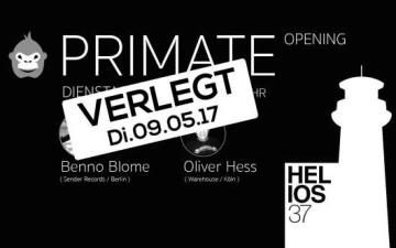 Primate - Opening im Helios37