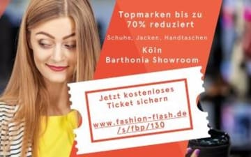 Fashion Flash Köln im Barthonia Showroom