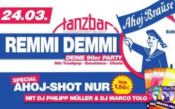 Remmi Demmi - Die 90er Kultparty in der Tanzbar am 24.03.2018