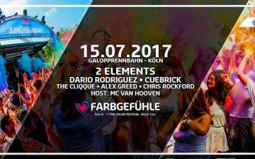 Farbgefühle Festival an der Galopprennbahn