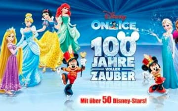 Disney on Ice in der Lanxess Arena
