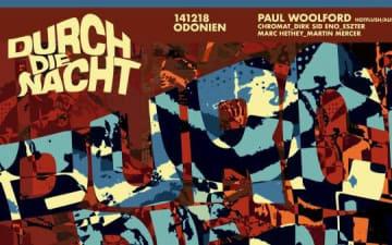 Durch Die Nacht mit Paul Woolford in Odonien am 14.12.2018