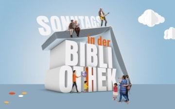 Sonntags in der Stadtbibliothek Köln am 11.10.2020