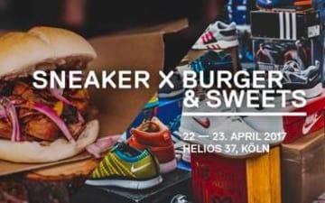 Sneaker X Burger & Sweets im Helios37