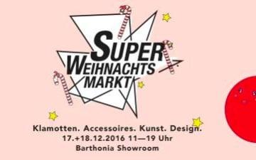 Der Super Weihnachtsmarkt im Barthonia Showroom