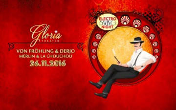Elektro Swing Night im Gloria Theater