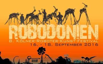 Robodonien - 8. Roboter-Kunst-Festival im Odonien