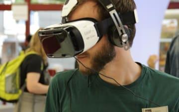 Tag der virtuellen Realität in der Stadtbibliothek Köln
