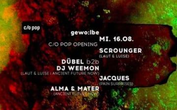 C/O POP Festival Opening mit Jaques und Dübel