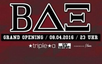 BETA HOUSE - Die Collegeparty - im Tripe A Club