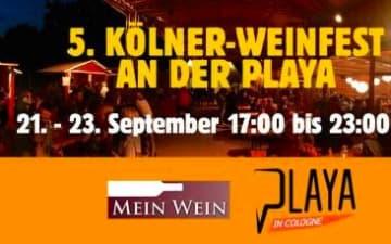 5. Kölner Weinfest an der Playa