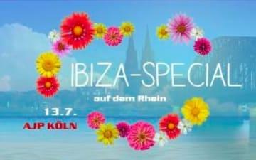 Ibiza Special - AfterJobParty auf dem Rhein