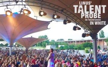 Linus Talentprobe in White im Tanzbrunnen