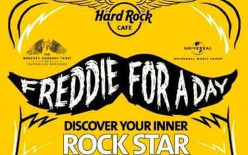 Freddie for a Day im Hard Rock Café