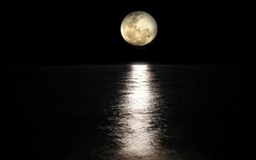 Mondscheinpaddeln am Blackfoot Beach am 17.06.2019