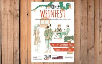 6. Kölner Weinfest an der Playa am 20.09.2018