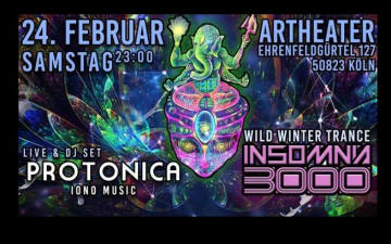 Insomnia 3000 / Wild Winter Dance-Protonica Live am 25.02.2018