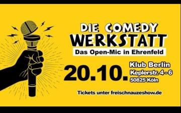 Die Comedy Werkstatt am 20.10.2021
