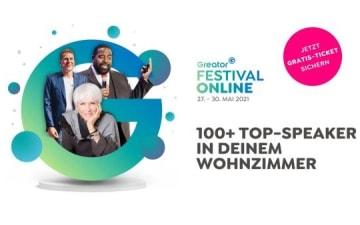 Greator Festival Online vom 27.-30.05.2021