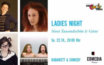 Köln Comedy Ladies Night im Comedia Theater