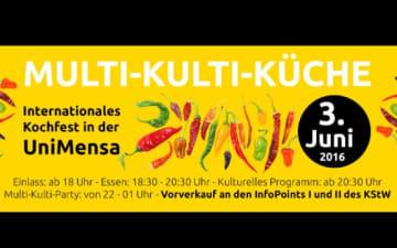 Multi-Kulti-Küche - Internationales Kochfest in der Uni Mensa