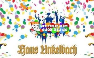 Die legendäre Karnevalsparty am Rosenmontag im Haus Unkelbach