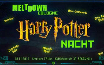 Harry Potter Nacht im Meltdown Cologne