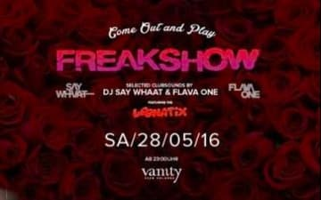 Freakshow - Come out and play im Vanity Club Cologne