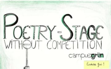 Poetry-Stage in der HumFak