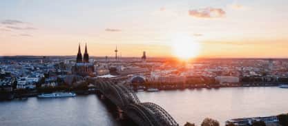 Die 5 beliebtesten Aussichtspunkte Kölns