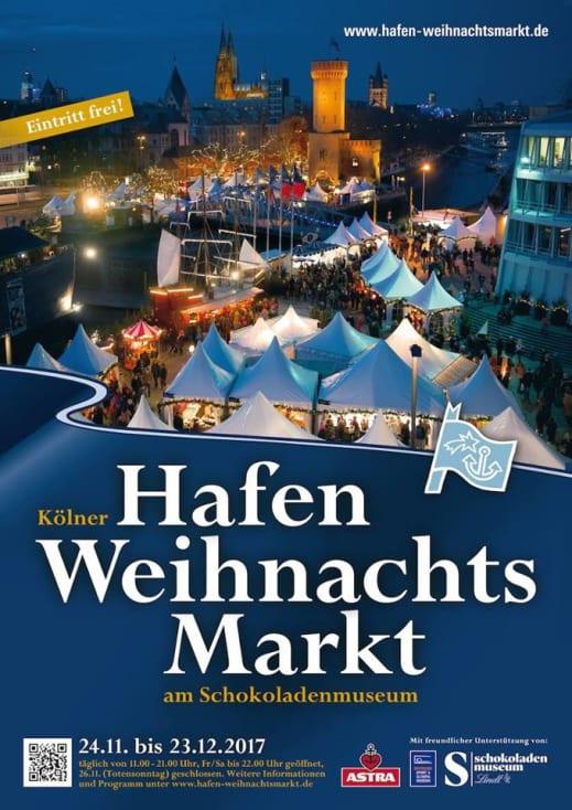 öffnungszeiten Kölner Weihnachtsmarkt.Kölner Hafen Weihnachtsmarkt Am Schokoladenmuseum Am 27 11 2017
