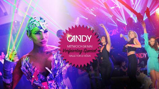 Candy Shop Vorfeiertag Special Halle Tor 2 Veranstaltungen Köln