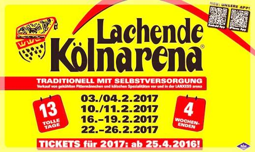 Lachende Kölnarena 2017 | Veranstaltungen Köln
