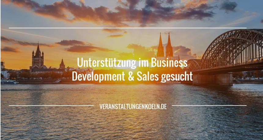 Unterstützung im Business Development & Sales gesucht (m/w)